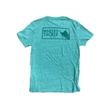 WHITE'S TACKLE GEO SAILFISH BOX LOGO - S/S TRIBLEND