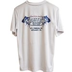 ALUTECNOS BLUEFIN WHITE'S TACKLE SUNSHIRT SHORT SLEEVE