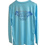ALUTECNOS BLUEFIN WHITE'S TACKLE SUNSHIRT LONG SLEEVE