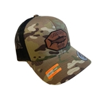 WHITE'S TACKLE TARPON PATCH - MULTICAM SNAPBACK